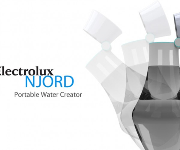 Njord Water Condenser Concept Makes Sure You Never Go Thirsty