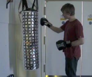 "Can Your Punching Bag Play ""Ode to Joy?"" Well, This One Can!"