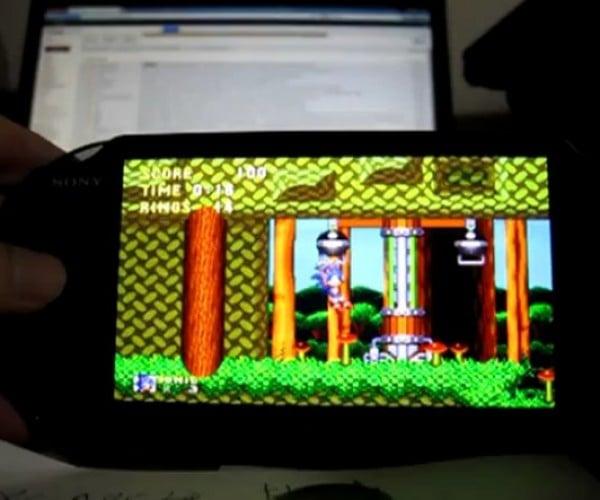 PS Vita Plays Sega Genesis Games