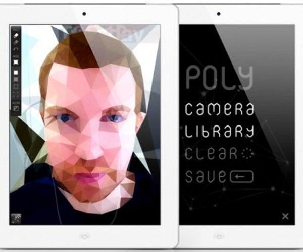 Poly iPad App Makes You Look Like M… M… M… Max Headroom