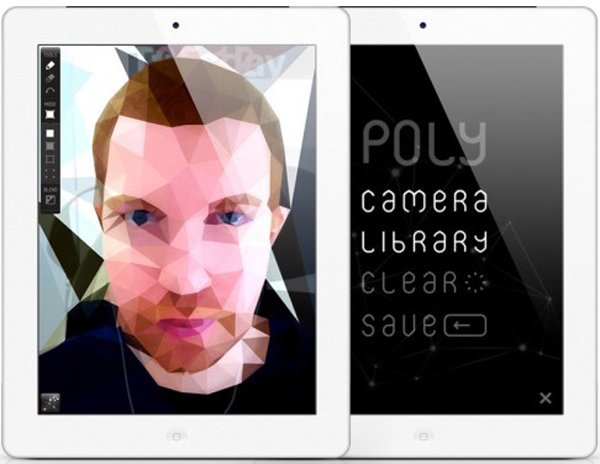 poly ipad app ios polygons fun