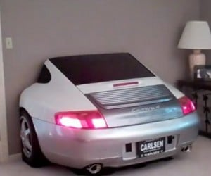 Porsche 996 TV Entertainment Center, for Those Who Want a Third of a Porsche