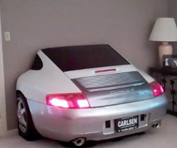 Porsche 996 TV Entertainment Center, for Those Who Want a Third of a Porsche