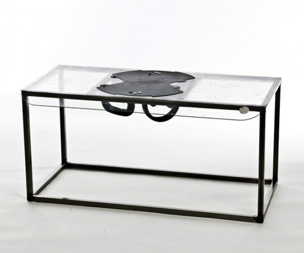 Riot Table Goes from Furniture to Riot Shield in Seconds