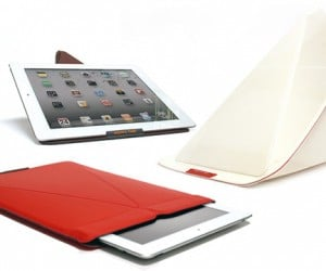 Smarty iPad Stand Sleeve Gets Smart About Standing