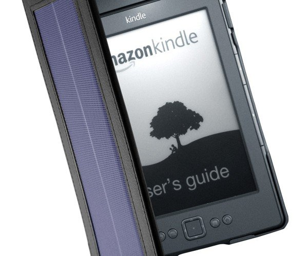 SolarKindle Cover: Recharges Your Kindle for Almost Unlimited Autonomy