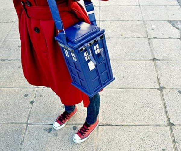 The TARDIS Purse, Finally the Doctor is the Companion