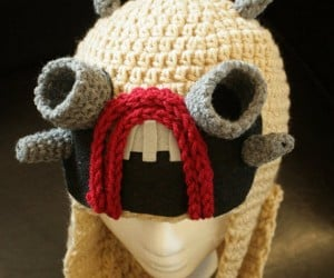 Crocheted Tusken Raiders Hat, Now You Just Need a Bantha