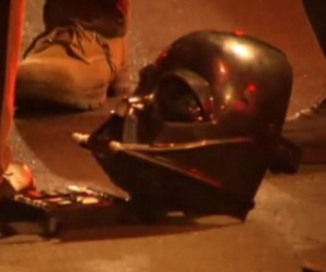 Darth Vader Attacks State Trooper, Gets Tasered