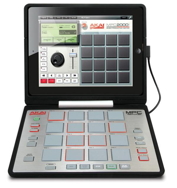 akai mpc fly controller ipad 2 music audio
