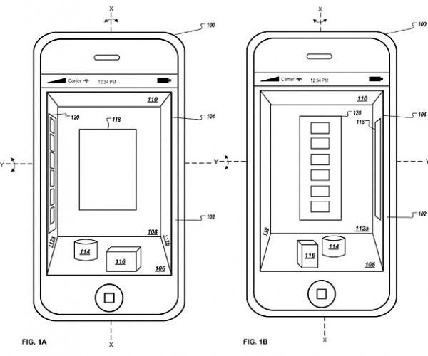 Apple Patent App Hints at 3D Interface Future