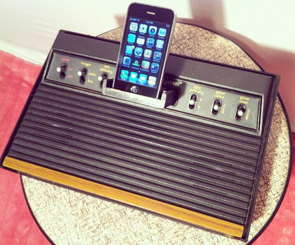 atari 2600 iphone dock