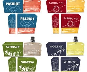 Avengers Cologne Set: Aromas, Assemble!