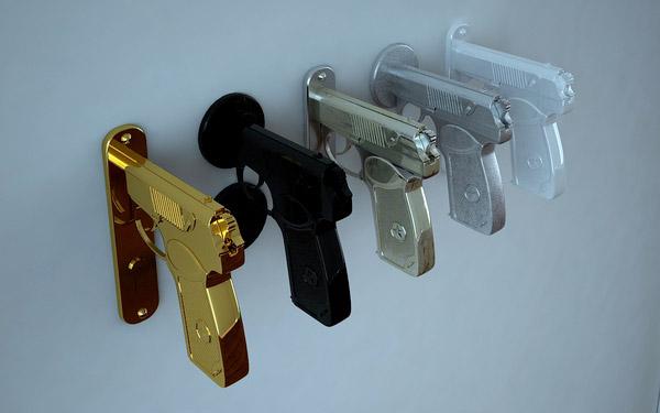 bang bang gun doorknob 2
