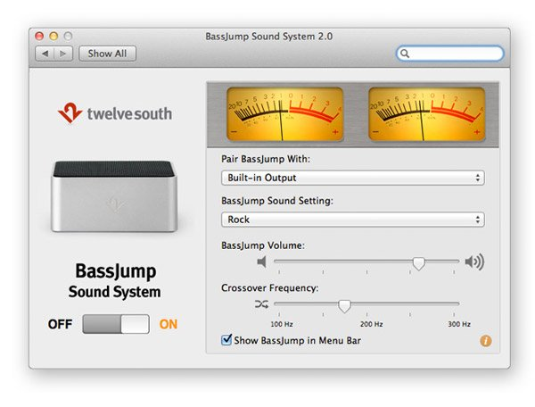 bassjump subwoofer software