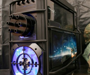 Battlefield 3 Chaingun Casemod Doubles as a Mini-Fridge