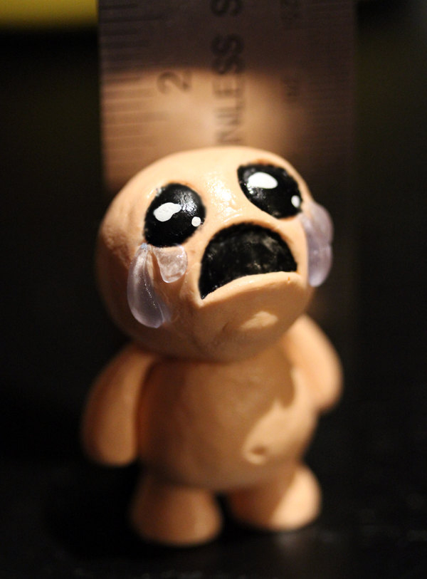 Binding Of Isaac Bedroom: Official Isaac Figurine Escapes From Mom Figurine