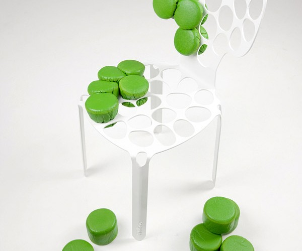 Squeeze Your Own Upholstery Into the bOne Chair