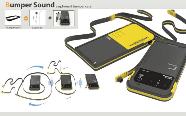 bumper sound headphoen concept