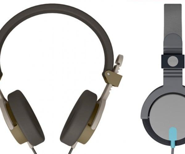 KiBiSi-Designed Capital Headphones for AIAIAI: Rain, Snow, Who Cares with These?