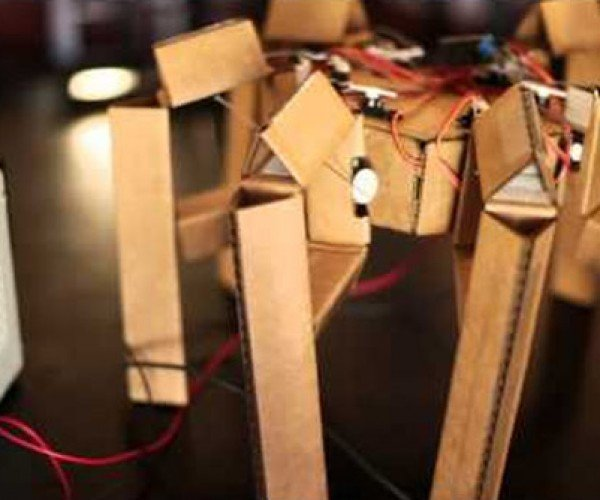 Make Your Own Cardboard Hexapod Robot