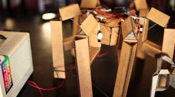 cardboard_hexapod_robot