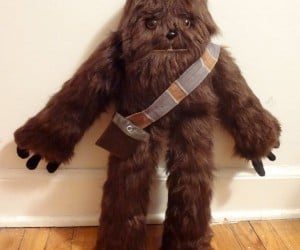 Plush Chewbacca: Three-Toed Sloth Meets Wookiee