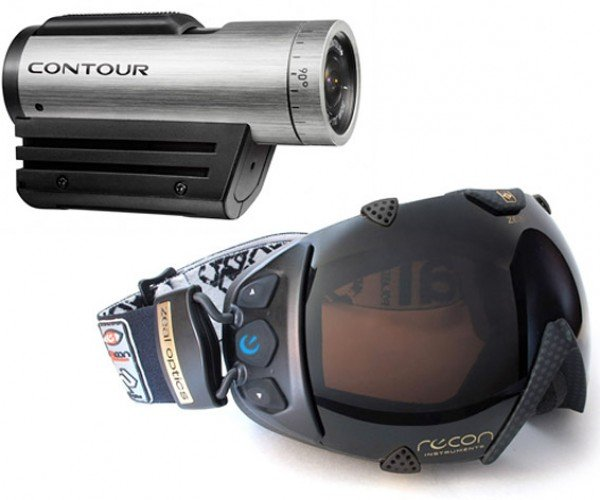 Recon Integrates Contour+ Camera Viewfinder into Goggles