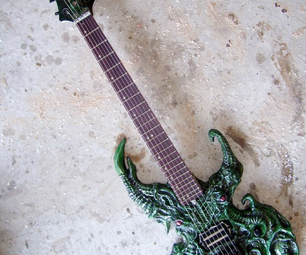 Cthulhu Guitar Perfect for Death Metal