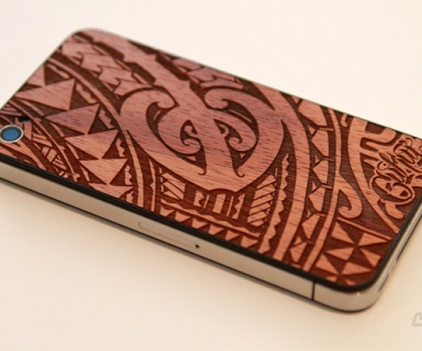 Cukui Wooden iPhone Backplate Takes Your iPhone Back to Nature