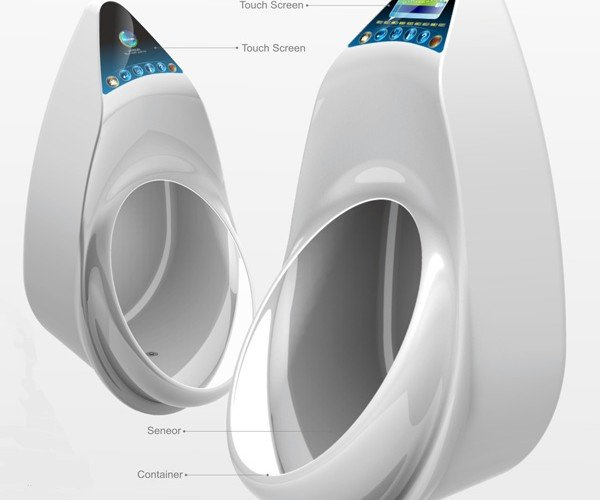 e-Urinal Gives You a Check-up While You Pee
