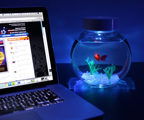 Electronic Goldfish in a Bowl: It's Like a Pet Rock Except It Moves