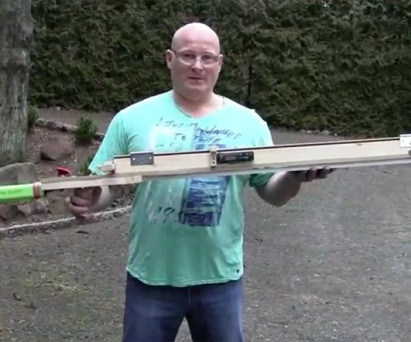 Joerg Sprave Builds Heated Slingshot for Maximum Zombie Killing Power