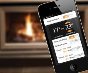 App-Controlled Fireplace: For Lazy Romantics