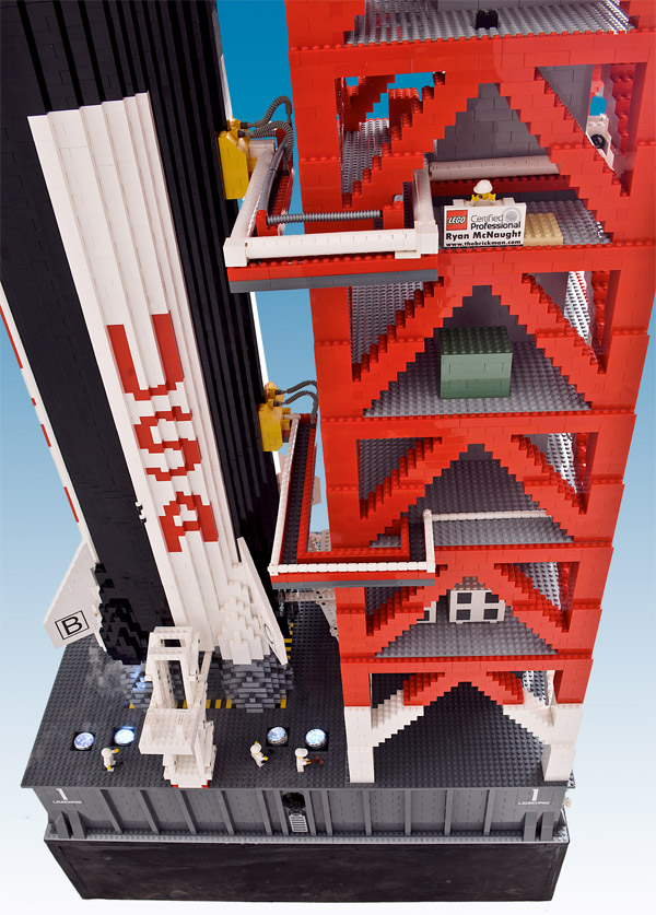 giant lego saturn rocket 3