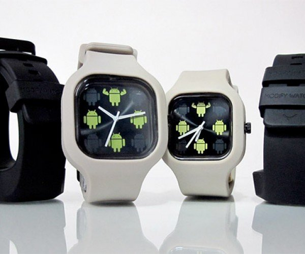 Google Android Modify Watch: It's Robot Time!