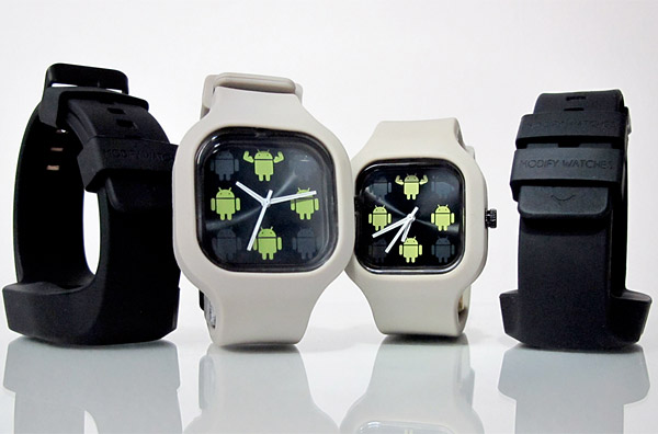 google android modify watches
