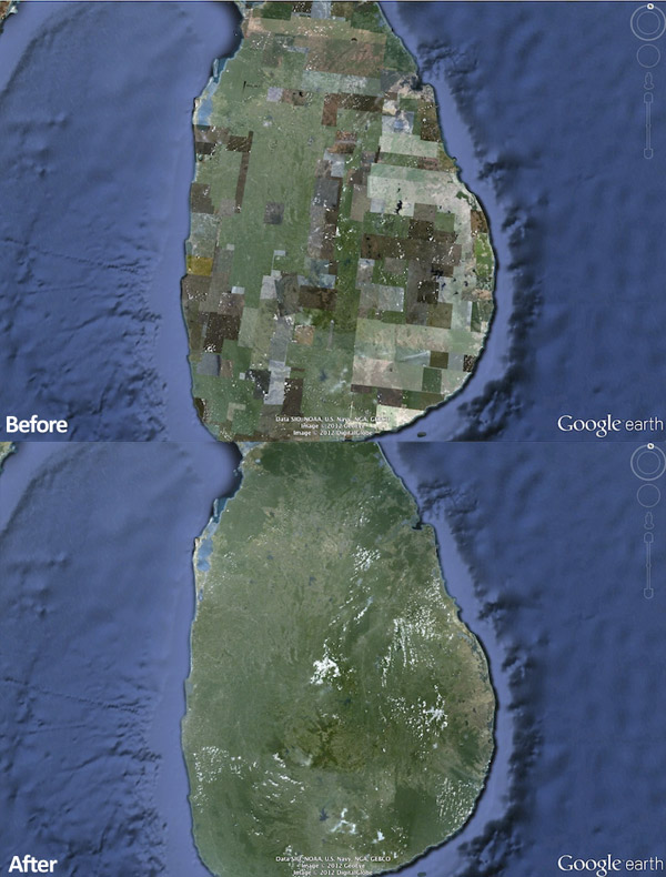 google earth smooths maps 3