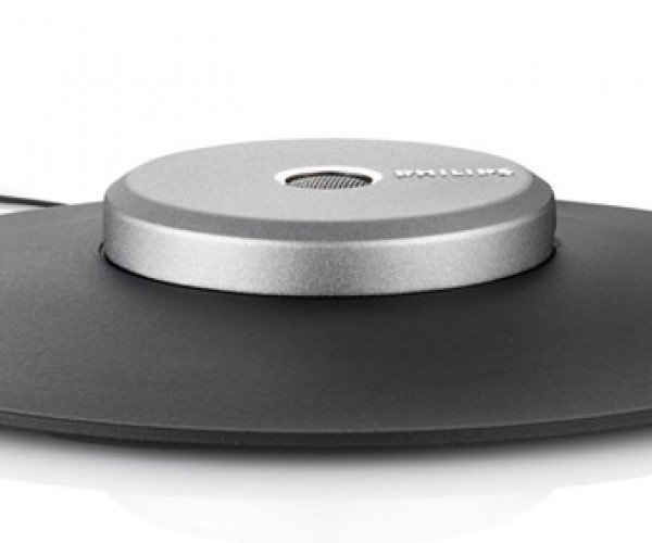Philips Desktop Microphone: Looks Like a UFO or a Frisbee