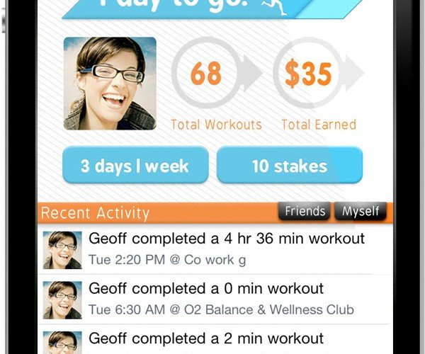 GymPact Makes You Pay for Not Working Out