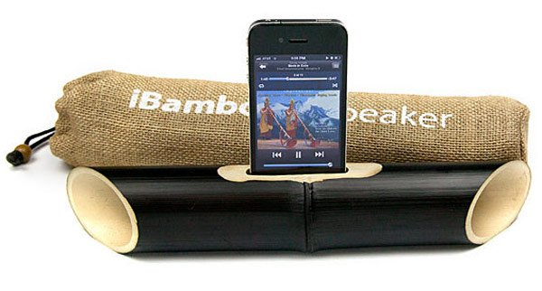 ibamboo iphone passive speaker acoustic 02