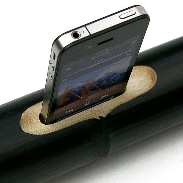 ibamboo iphone passive speaker acoustic 03