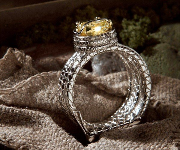 Indiana Jones Custom Engagement Ring: Throw Me the Ring, I'll Throw You the Idol