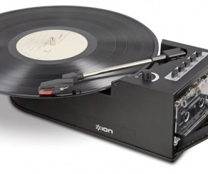 ION Duo Deck Converts Both Vinyl and Cassettes to Digital