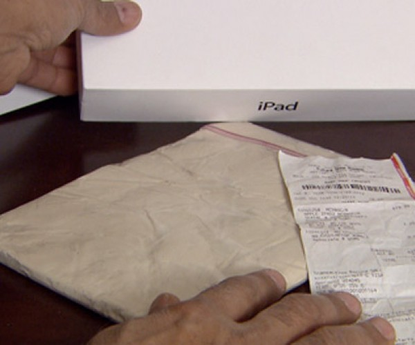 Buyers Sold Clay Instead of iPads