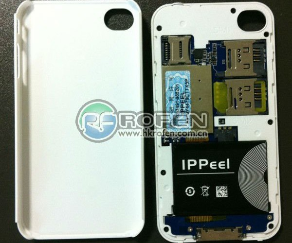 ippeel iphone triple sim dual phone case 4