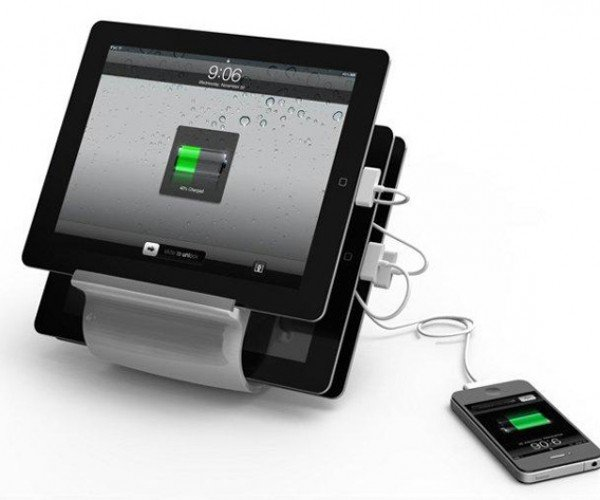 Kanex Sydnee Holds and Charges 4 USB Devices at Same Time