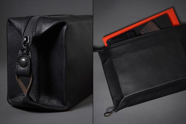 killspencer dopp folio grooming bag travel