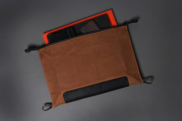 killspencer dopp folio grooming bag travel