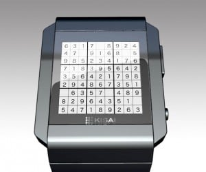 Sudoku Watch: Solve the Puzzle to Tell the Time